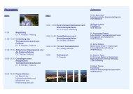 Programm: - Transplantationszentrum Freiburg