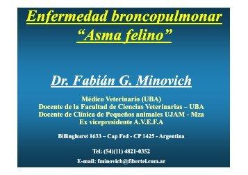 Asma - Facultad de Ciencias Veterinarias
