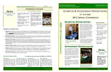 exhibitor & sponsorship brochure