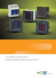 Crompton Instruments Integra Digital Metering Systems