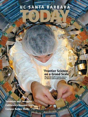 Fall 2008 - Institutional Advancement - University of California ...