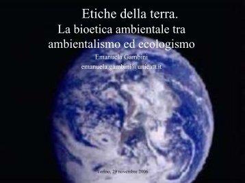Etiche della Terra