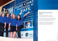 PDF, 1.4 MB - Gold Coast Institute of TAFE