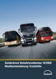 Verkehrsrundschau 19/2009 - MAN Truck & Bus Deutschland