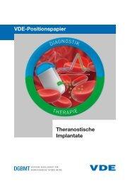 VDE-Positionspapier Theranostische Implantate - Medizinische ...