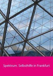 Spektrum 2012 - Selbsthilfe-Kontaktstelle Frankfurt e.V.