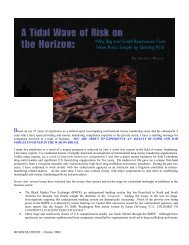 A Tidal Wave of Risk on the Horizon (Part 1) Why Big and Small ...