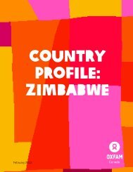 Zimbabwe - Oxfam Canada