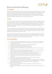 Business Development Manager - Saffron Interactive