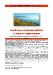 Addictions comportementales - Collège romand de médecine de l ...