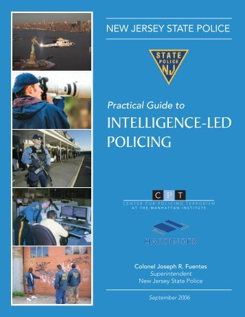 Practical Guide to Intelligence-led Policing - New Jersey State Police