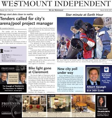 Westmount Independent, March 29, 2011