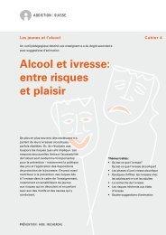 Alcool et ivresse: entre risques et plaisir - Addiction Suisse