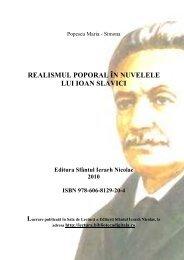realismul poporal în nuvelele lui ioan slavici - Sala de Lectură