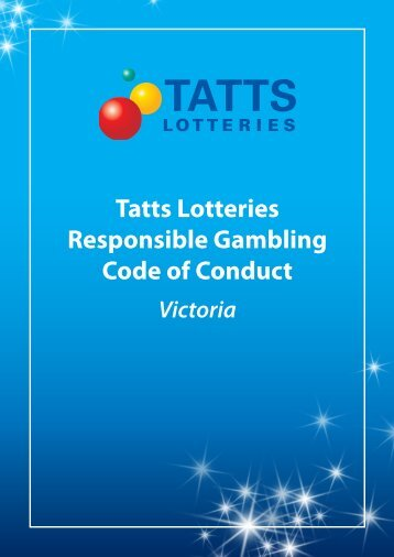 Responsible gambling code of conduct victoria grand casino tunica special package
