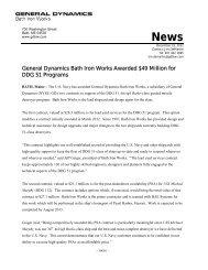 General Dynamics Bath Iron Works Awarded $49 Million for DDG 51 ...