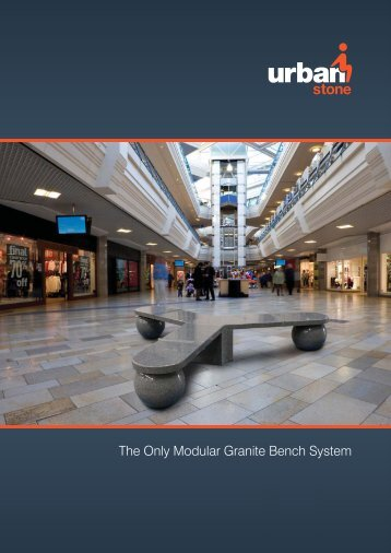 The Only Modular Granite Bench System