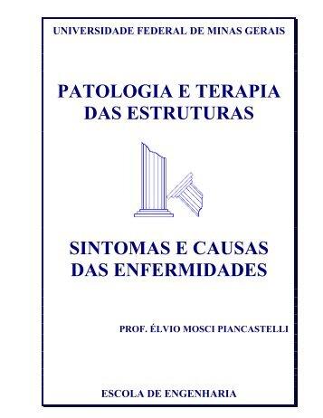 Sintomas e Causas das Enfermidades - DEMC - UFMG