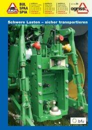 Schwere Lasten - sicher transportieren (2007)
