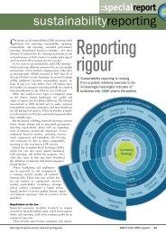 sustainabilityreporting - WME magazine