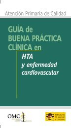 Guía de Buena Práctica Clínica en HTA y enfermedad ... - CGCOM