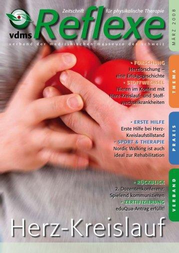 Zeitschrift für physikalische Therapie - vdms