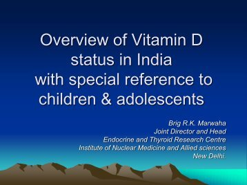 Dr. Marwah - Nutrition Foundation of India