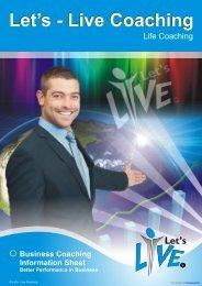 Business Coaching - Let's-Live Coaching