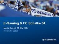 E-Gaming Strategien - SPONSORs Sports Media Summit