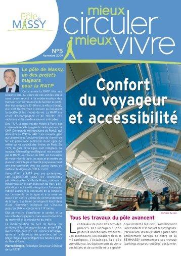 Confort du voyageur et accessibilité Confort du voyageur et ... - Massy