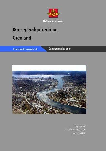Konseptvalgutredning Grenland - Statens vegvesen