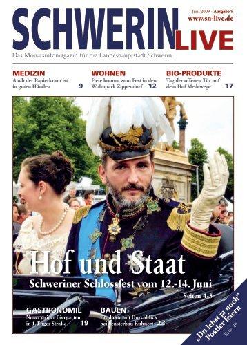 Schweriner Schlossfest vom 12.-14. Juni - Schwerin Live