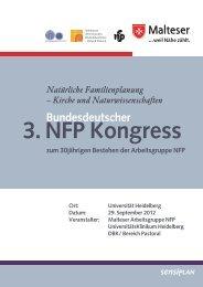 3. NFP Kongress - Arbeitsgruppe NFP