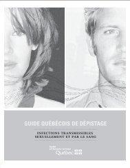 Guide Québécois de dépistage - Gouvernement du Québec