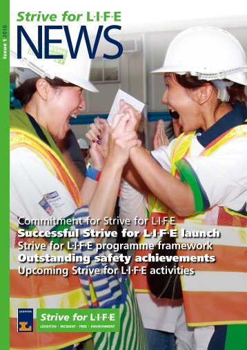 Commitment for Strive for LIFE Successful Strive for ... - Leighton Asia