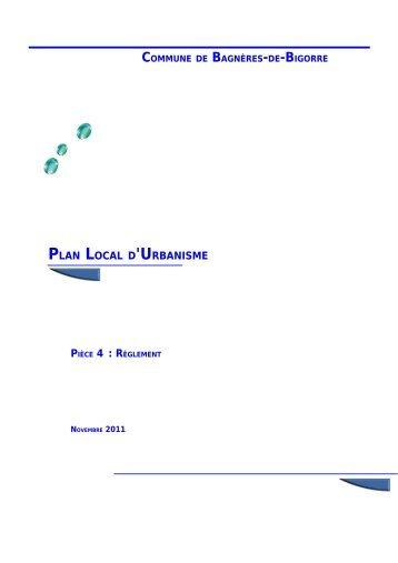 le réglement - Bagnères-de-Bigorre
