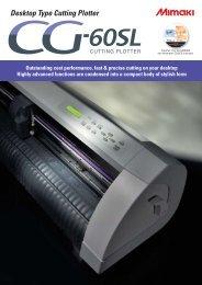CG-60SL(pdf) - Mimaki USA, Inc