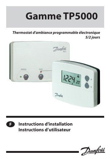 Tp5e Rf Ensemble Pour Thermostat Dambiance Danfoss