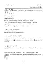 1 UNE CASE EN PLUS SEANCE 5 Fiche Elève Analyse de Là où ...