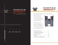 Product Manual - Vortex Canada