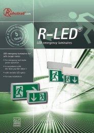 .com LED emergency luminaires - Ruhstrat GmbH