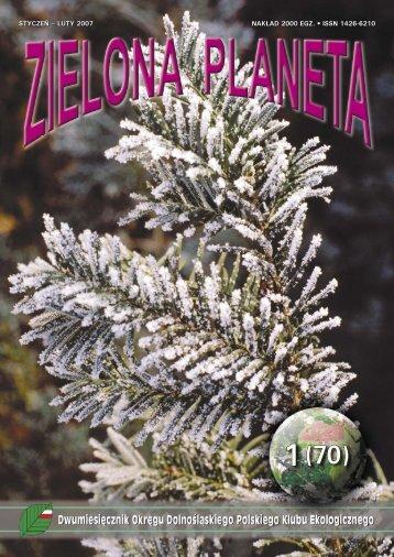 styczeń – luty 2007 nakład 2000 egz. • issn 1426-6210 - Polski Klub ...