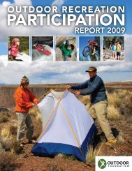 2009 outdoor Recreation participation Report - The Outdoor ...