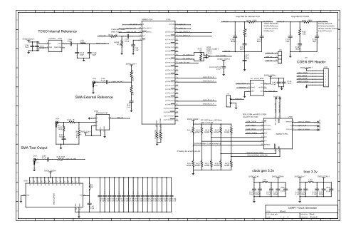 USRP B100 Schematic
