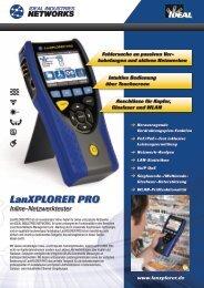 LanXPLORER PRO - FICONET systems GmbH