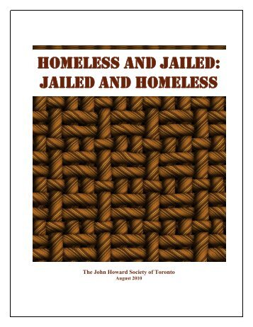 Homeless and Jailed: Jailed and Homeless - The John Howard ...