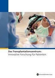 Das Transplantationszentrum - Universitätsklinikum Essen
