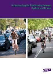Understanding the relationship between cyclists and drivers (PDF
