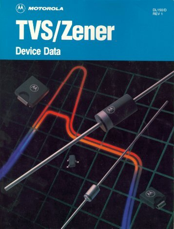 Motorola - TVS Zener device data - dl150rev1 - Italy
