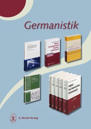 S. Hirzel Verlag